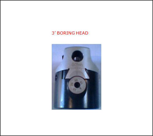 3 Inch Boring Head
